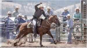 Tie-down roper Bo Pickett